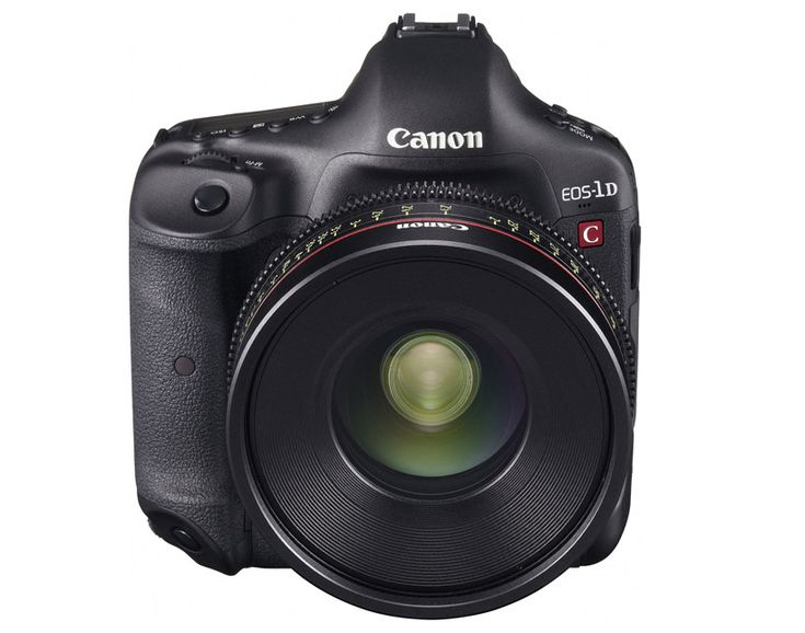 canon EOS-1D C is the world's first 4K DSLR camera