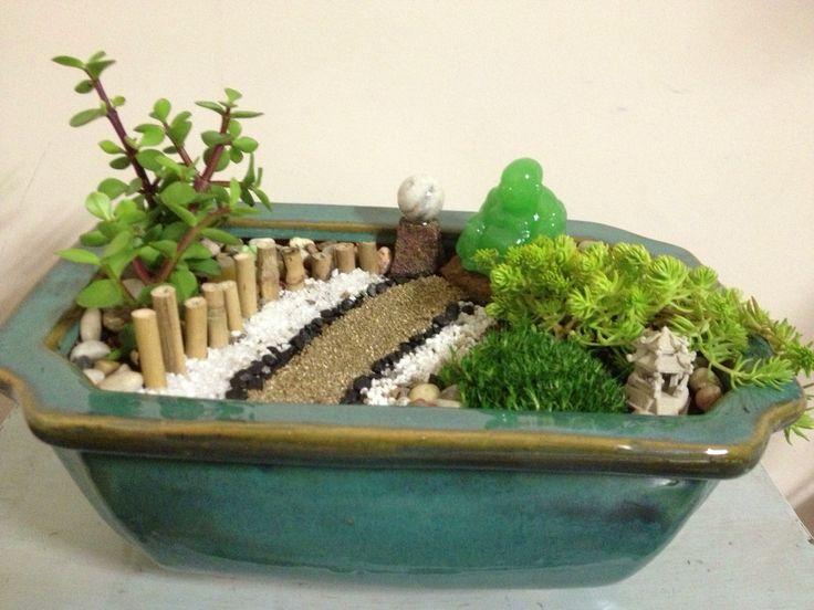 the 25+ best miniature zen garden ideas on pinterest | fairy, Garten und bauen