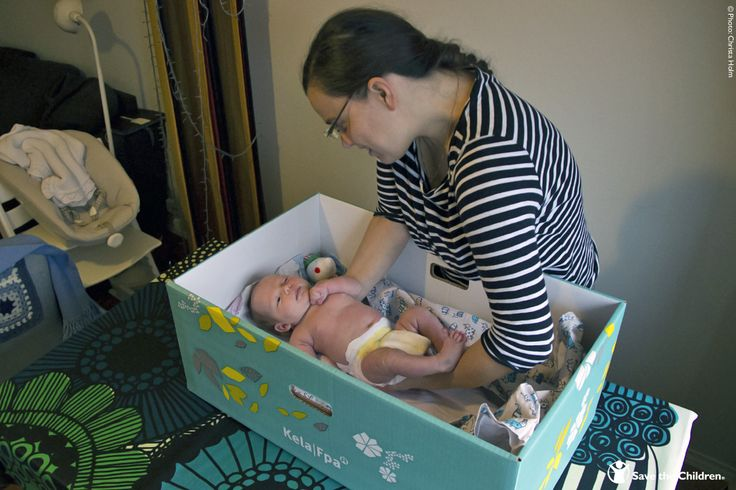 Finland ranks #2 in Save the Children's 2015 Mother's Index rankings. This cardboard box comes to all new parents courtesy of the Finnish government. The box comes filled with essential items, such as children's clothes, bedding, cloth nappies, towels and other child-care products, and is designed to be used as a secure baby cot.
