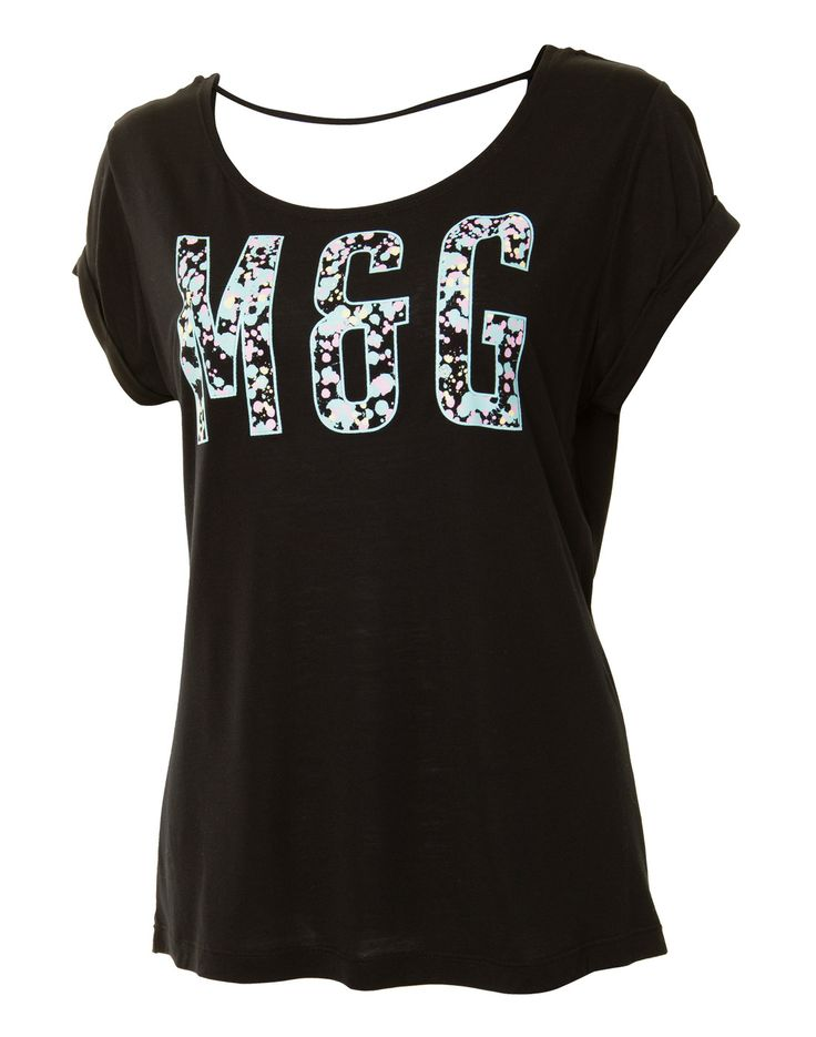 millie & gym Womens Loose Graphic T-Shirt