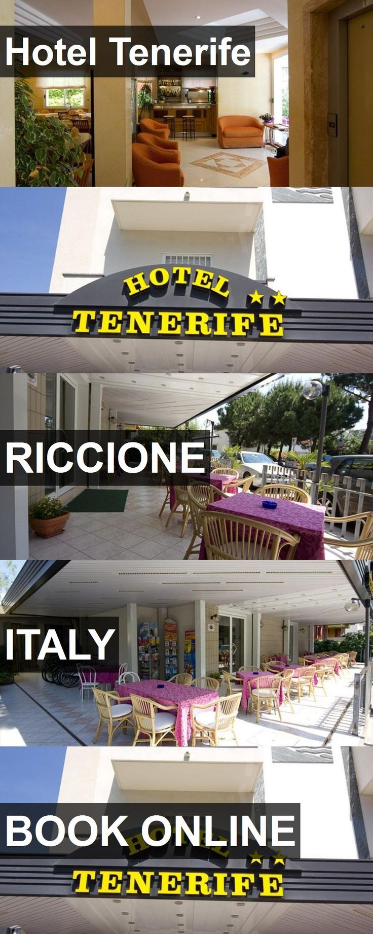 Hotel Hotel Tenerife in Riccione, Italy. For more information, photos, reviews and best prices please follow the link. #Italy #Riccione #HotelTenerife #hotel #travel #vacation