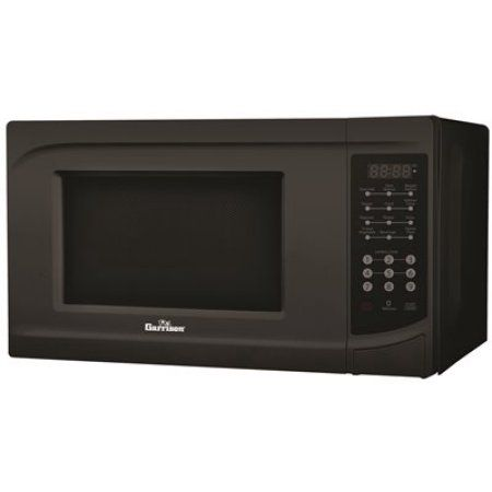 Garrison 0.7 Cu. Ft. Countertop Microwave Oven, Black