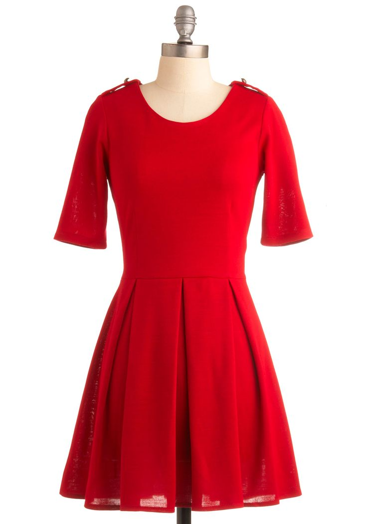 H m red dress uk flag