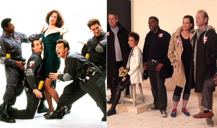 """Good luck not getting the """"Ghostbusters"""" theme song stuck in your head! After 30 years, """"Ghostbusters"""" stars Ernie Hudson, Bill Murray, Sigourney Weaver and Annie Potts reunited on the """"TODAY"""" show with director Ivan Reitman. Sorry fans, don't hold your breath for a sequel! Al Roker spoke with the cast about the iconic film, ad-libbing, their best memories, and of course ... the gooey green slime!"""