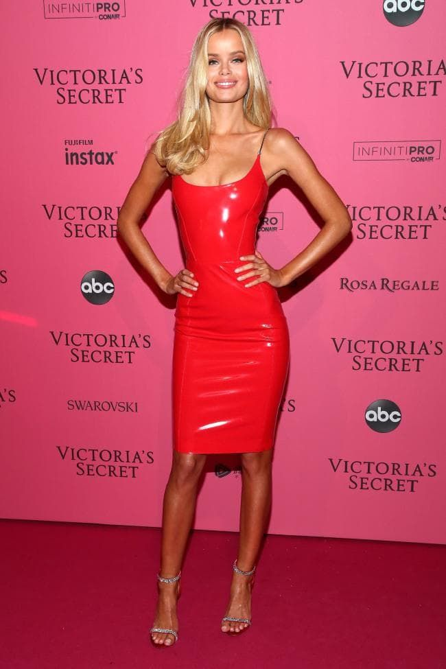 cbd08a2df2f Frida Aasen attends the 2018 Victoria s Secret Fashion Show After Party on November  8