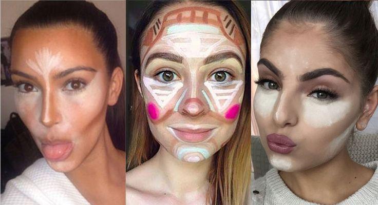 El año pasado, las tendencias de maquillaje estuvieron más fuertes que nunca gracias a las hermanas Kardashian quienes impusieron la moda del contouring en