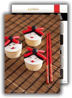 HUPSAKEEK: Geisha cupcakes in Mjamtaart special