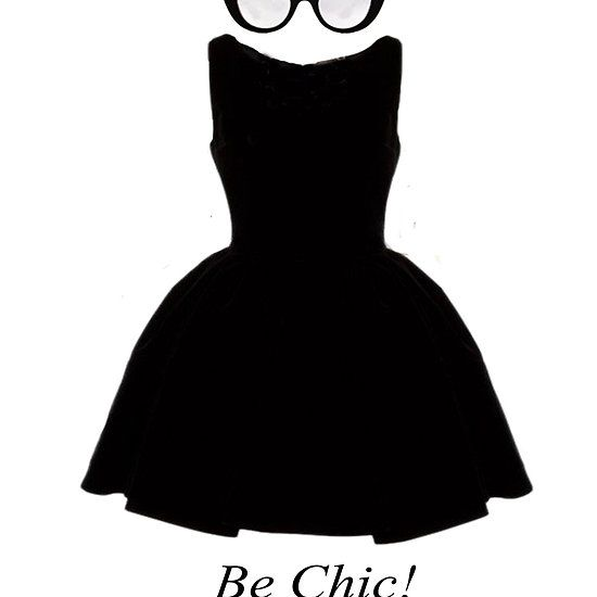 Robe Noire Be Chic