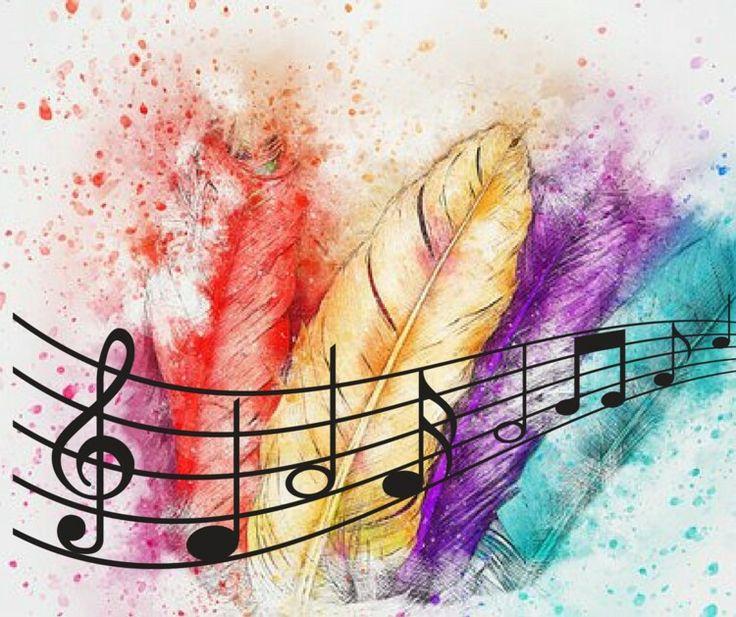 рисуем музыку в картинках делала такую интересную