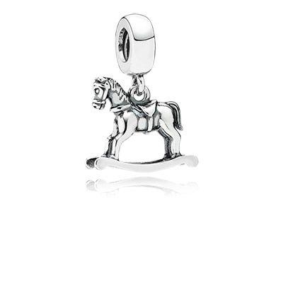 PANDORA | Pendente Cavallo a Dondolo