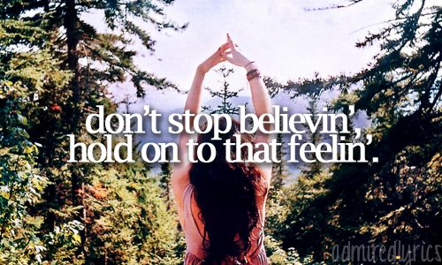 Don't Stop Believin' - Journey ♥