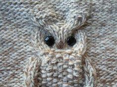 Een uil van je kabels breien