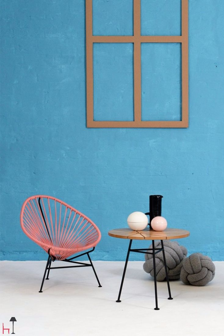 Acapulco mini lounge chair designed by OK Design is a beautiful chair for the kids.