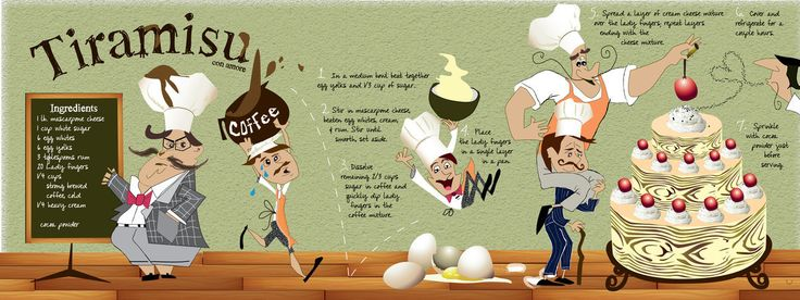 Tiramisu Illustrated Recipe
