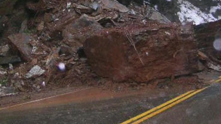 Meteorologist Danielle Banks describes the aftermath caused by heavy rain throughout California and Nevada.