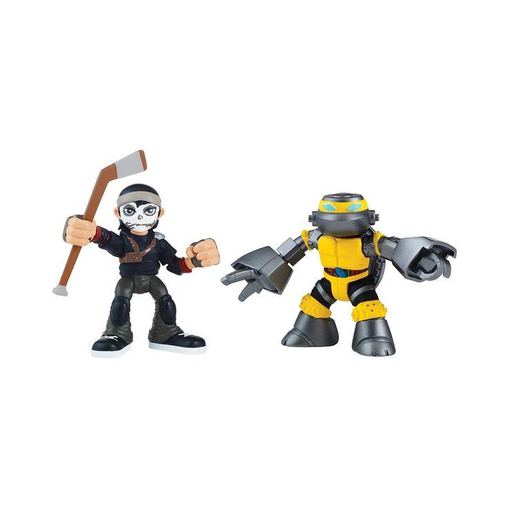 Teenage Mutant Ninja Turtles Half Shell Heroes Metalhead and Casey