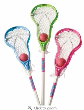 STX FiddleSTX Girls Lacrosse Stick with Ball - $19.99 I actually have theese