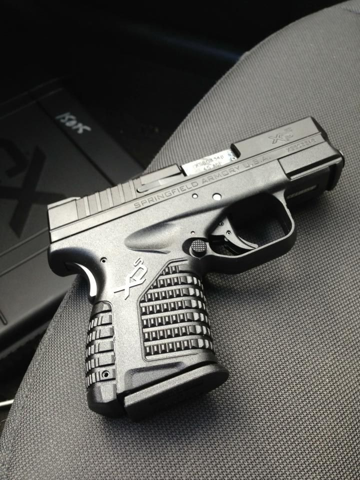 Springfield Armory XDS 45.  One of my favorites to shoot!!