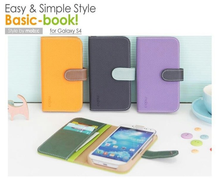 Basic Bookcase for Galaxy S4