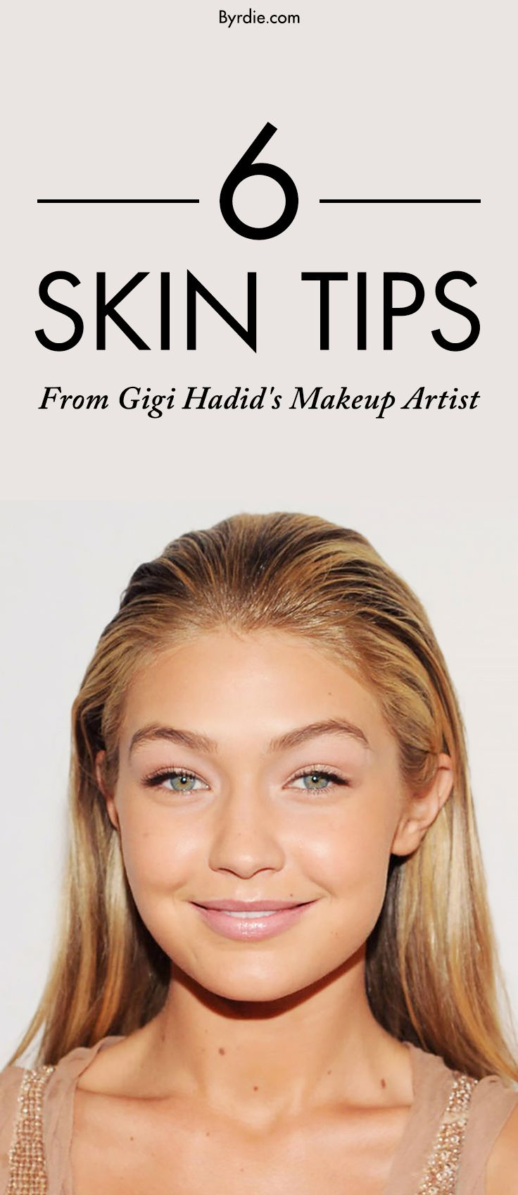 The skin tips that Gigi Hadid follows to get glowing skin
