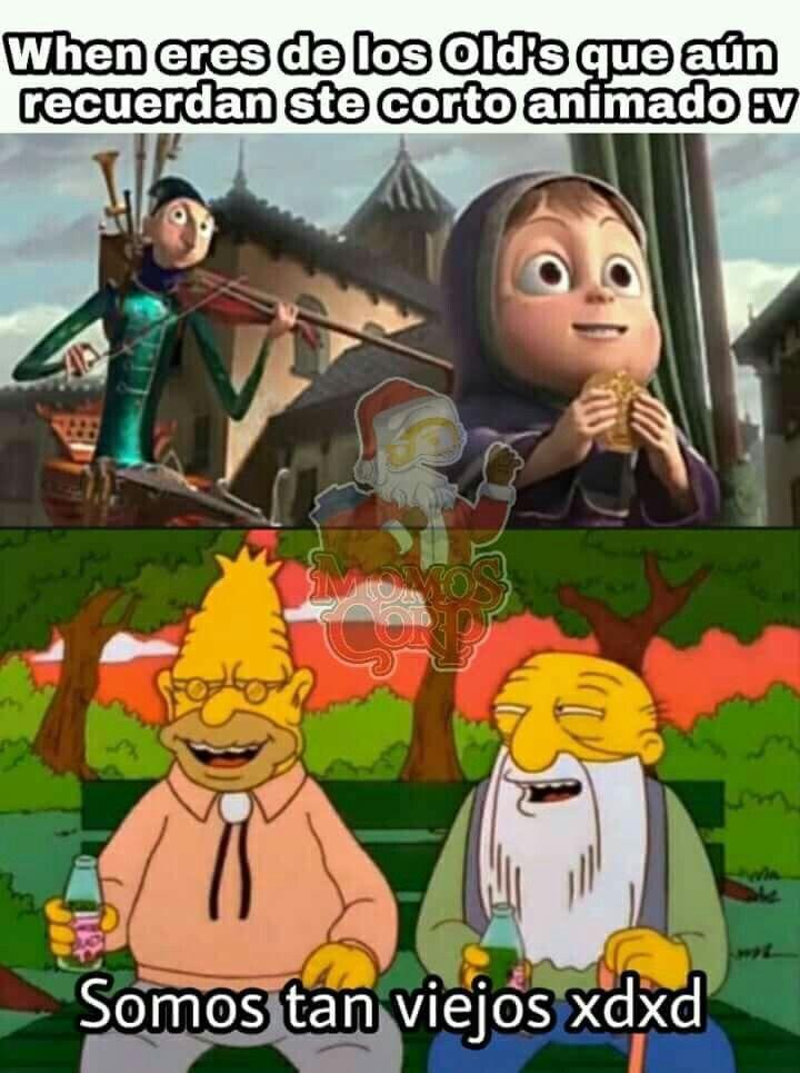 Junto con todos los cortos shidoris que salieron antes del cancer llamado Corto de Frozen protagonizado por Olaf