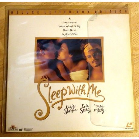 Sleep With Me - Deluxe Letterbox Edition (LaserDisc)