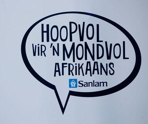 Hoopvol vir 'n mondvol Afrikaans