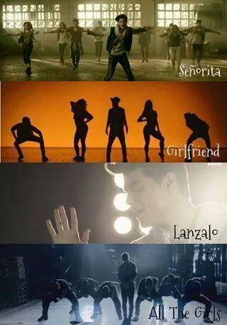 Los 4 videoclips