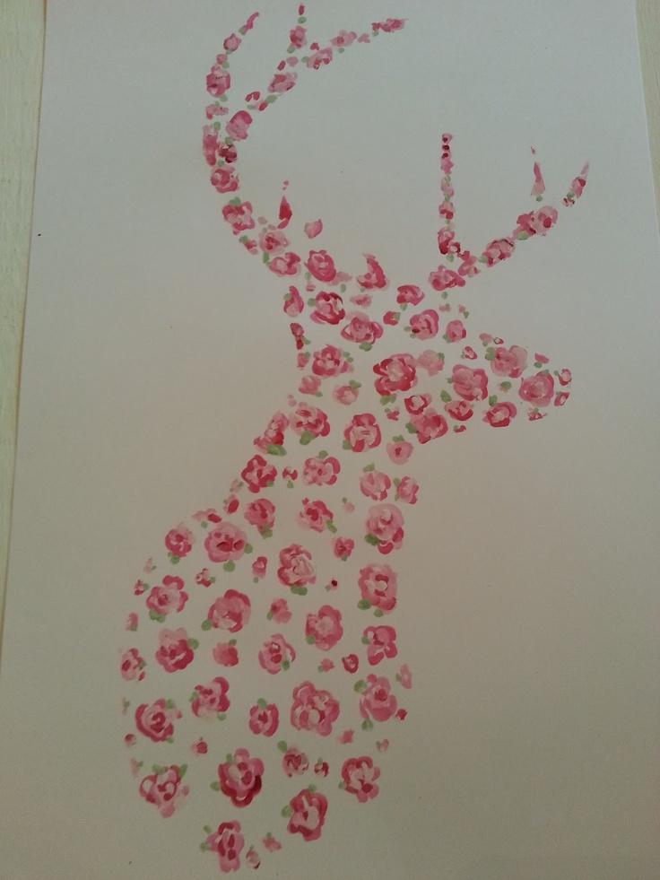 ..Twigg studios: hand painted deer october calender printable