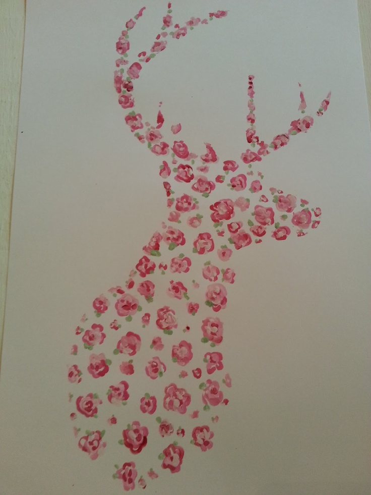 ..Twigg studios: hand painted deer october calender printable