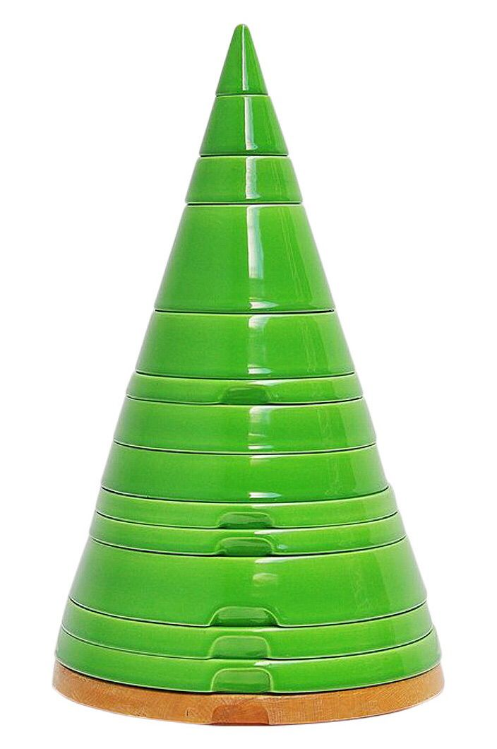 Tableware tower - Pierre Cardin for Ceramica Franco Pozzi, 1970.