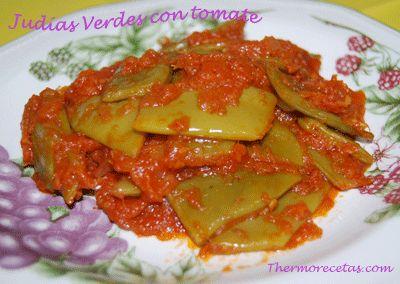Judias verdes con tomate
