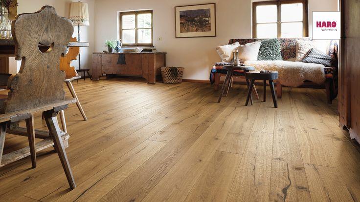 Engineered Timber Flooring Plank 1-Strip 4V Oak Alabama brushed  #EngineeredTimberFlooring #woodflooring #timberflooring #haroflooring #madeingermany