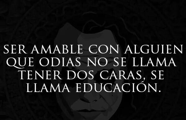 Solo es educación