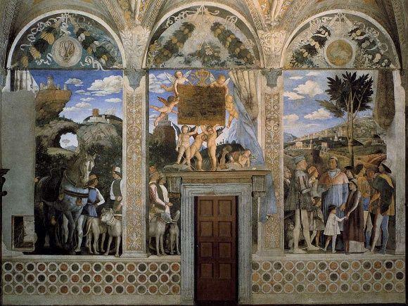 ANDREA MANTEGNA, camera degli sposi, Mantova
