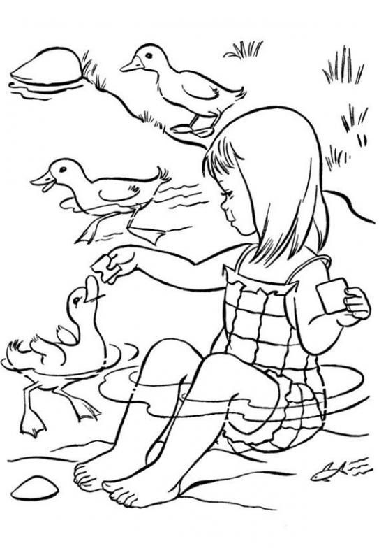 Top 50 Free Printable Summer Coloring Pages Online ...