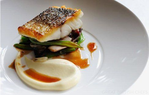 Sea Bass Recipes: Grilled Sea Bass, Pan-roast - Great British Chefs