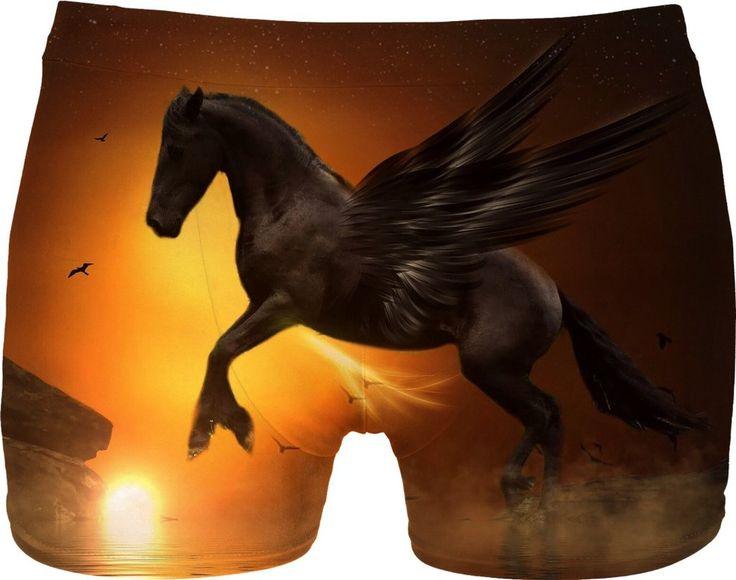 Black Pegasus Men Underwear
