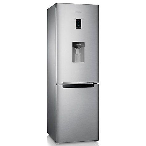 Buy Samsung RB31FDRNDSA Fridge Freezer, A+ Energy Rating, 60cm Wide, Silver Online at johnlewis.com