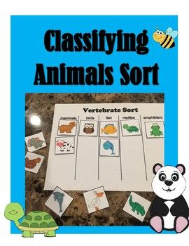 FREE Classifying Animal SortNeed a quick, fun activity for your students to determine if they are understanding the difference between animal groups, then look no further!