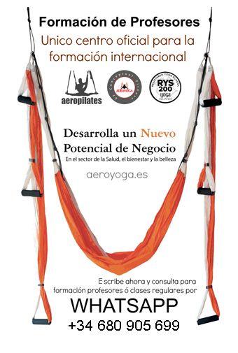 YOGA AEREO MEXICO: Yoga Aéreo: Formación Maestros Aero Yoga Internacional en Distrito Federal con Rafael Martinez
