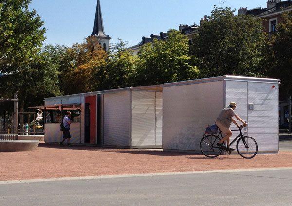 HABANA KIOSK | customizable modular kiosk #microarquitectura #kiosk