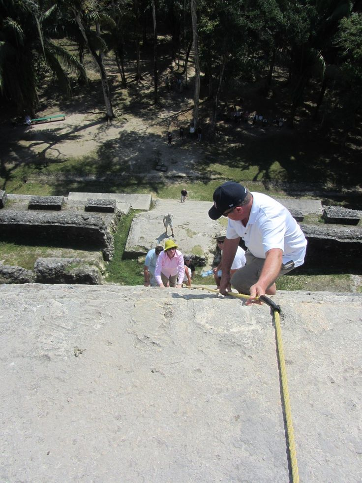 Visiting a Mayan site is at the top of many vacation lists for people visiting Belize. One of the best is a day trip from Ambergris Caye...a long day trip