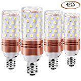 Review for E12 LED corn Bulb - Sunklly 12W LED Light Bulbs 6000K Daylight White Non-Dimmabl... - julian perez  - Blog Booster