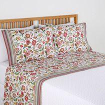 Juego de sábanas de algodón de planchado fácil Indiana · Hogar · El Corte Inglés