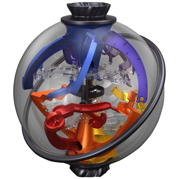 "Perplexus Twist The Newest HandHeld Perplexus Puzzle Game From PlaSmart The Perplexus Family has a fascinating new ""Twist""! This time around you will find traps, cliffhangers and dead ends. You can on"