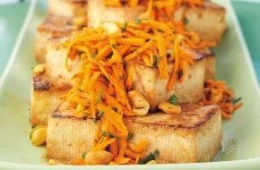 Lemon-Ginger Tofu Steaks | Weber.com