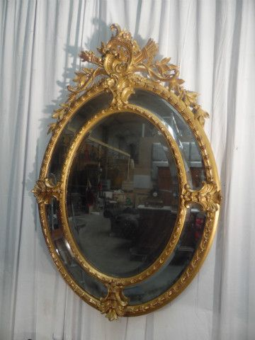 Mirror - Miroirs - Miroirs - Pendules - Tableaux - Nord Antique