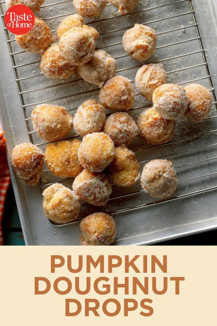 Pumpkin Doughnut Drops Recipe Drop Doughnut Recipe Pumpkin Doughnut Drop Donut Recipe