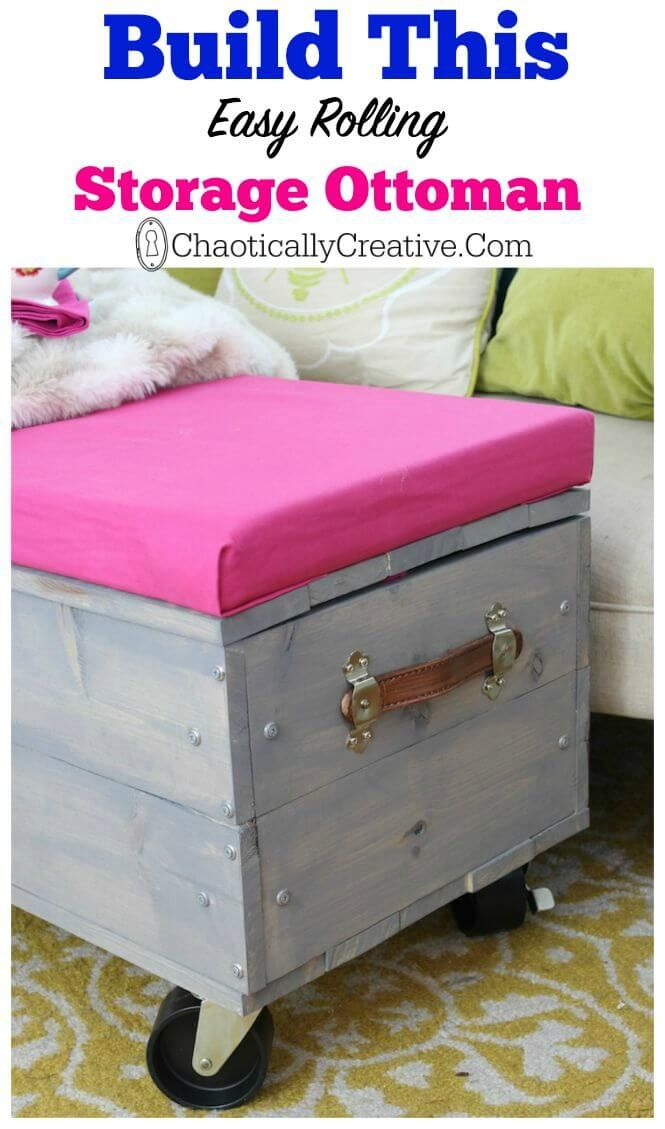1000 images about diy projects on pinterest home storage solutions cake ideas boys and - Creative diy ottoman ideas ...